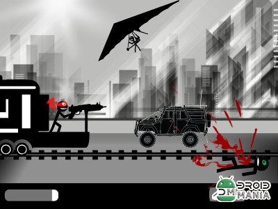 Скриншот Stickman Train Shooting №4