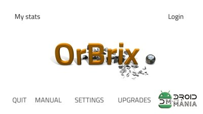 Скриншот OrBrix: Orbital brick breaking №1