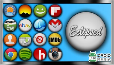 Скриншот Eclipsed Icon Pack №1