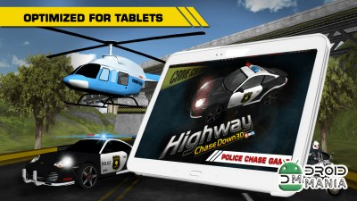 Скриншот HIGHWAY CHASE DOWN 3D №4