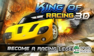 Скриншот KING OF RACING 3D №1