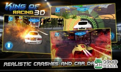 Скриншот KING OF RACING 3D №3
