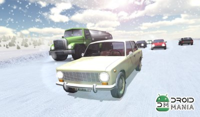 Скриншот Russian Winter Traffic Racer №1