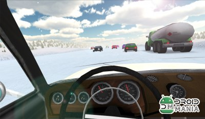 Скриншот Russian Winter Traffic Racer №2
