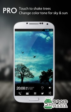 Скриншот Blue Sky Pro Live Wallpaper №3