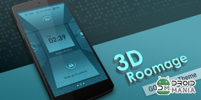 Скриншот 3D ROOMAGE GO LOCKER THEME №1