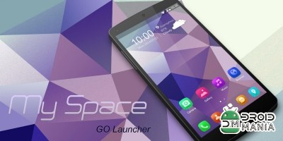 Скриншот My Space GO Launcher Theme №4