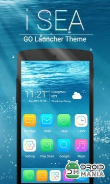 Скриншот iSEA GO Theme Launcher №1