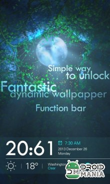 Скриншот THE MOON GO LOCKER THEME (Unlocked) №1