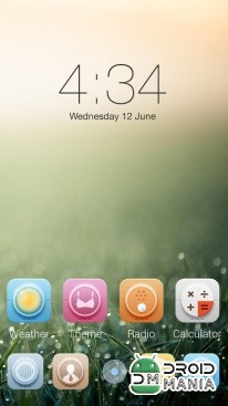 Скриншот Peace GO Launcher Theme (Unlocked) №2