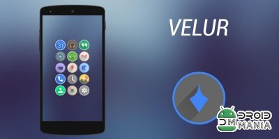 Скриншот Velur - Icon Pack №1