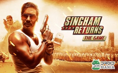 Скриншот Singham Returns The Game №1