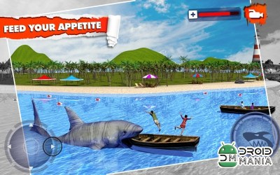 Скриншот Angry Shark Simulator 3D №1