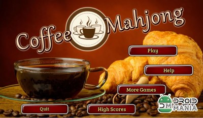 Скриншот Coffee Mahjong Premium №1