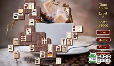 Скриншот Coffee Mahjong Premium №3