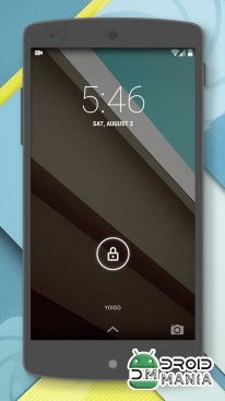 Скриншот CM11 Theme - Android L №4