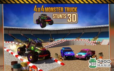 Скриншот 4x4 Monster Truck Stunts 3D №1