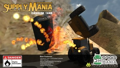 Скриншот 4x4 Supply Mania Gasoline Tank №1