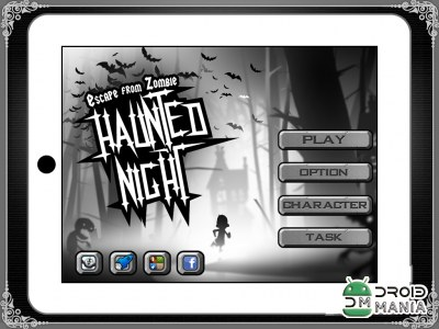 Скриншот Haunted Night - Running Game №1