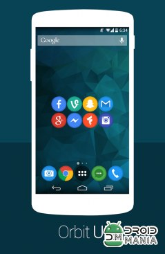 Скриншот Orbit UI - Icon Pack №2