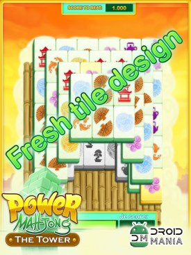 Скриншот Power Mahjong the Tower-Deluxe №1