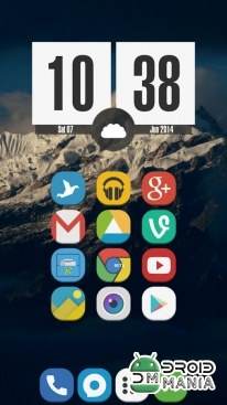 Скриншот Stock UI - Icon Pack №1