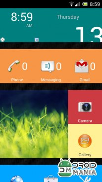 Скриншот SquareHome.Phone (Launcher) Full №1
