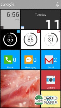 Скриншот SquareHome.Phone (Launcher) Full №2