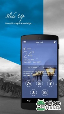 Скриншот GO Weather Forecast & Widgets Premium №1