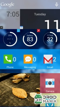Скриншот SquareHome.Phone (Launcher) Full №3