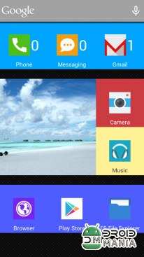 Скриншот SquareHome.Phone (Launcher) Full №4