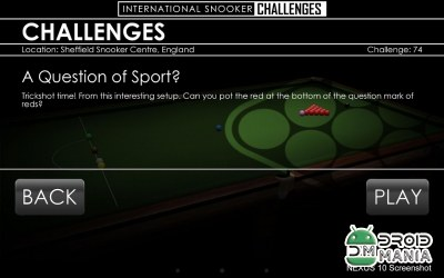 Скриншот Snooker Challenges №2