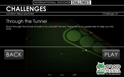 Скриншот Snooker Challenges №4