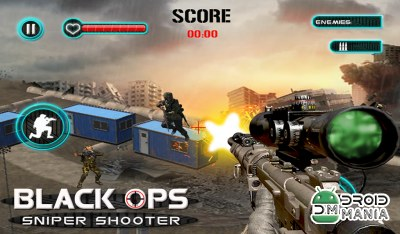 Скриншот Black Ops Sniper Shooter №1