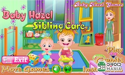 Скриншот Baby Hazel Sibling Care №1