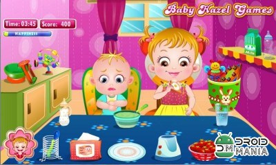 Скриншот Baby Hazel Sibling Care №3