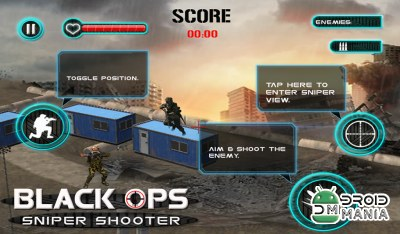 Скриншот Black Ops Sniper Shooter №4