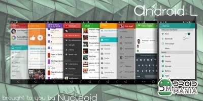 Скриншот CM11 Theme - Android L №2