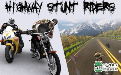 Скриншот Highway Stunts Riders №1