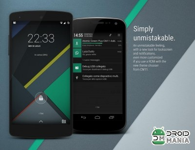 Скриншот Atomic Green CM11 Theme №3