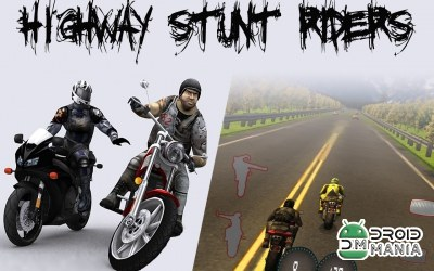 Скриншот Highway Stunts Riders №3