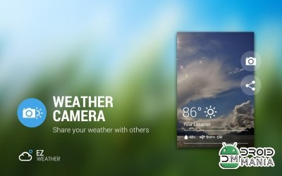 Скриншот EZ Weather HD Beautiful Widget Premium №3