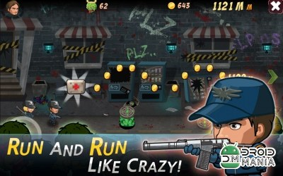 Скриншот SWAT and Zombies Runner №2