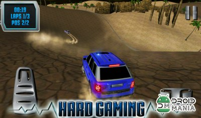 Скриншот SUV Desert Road Racing 3D Full №3