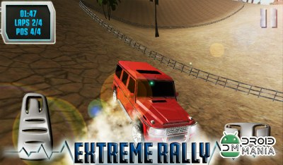 Скриншот SUV Desert Road Racing 3D Full №4