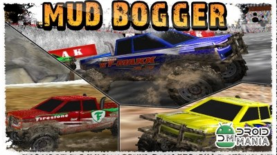 Скриншот Mud Bogger (3D Racing Game) №1