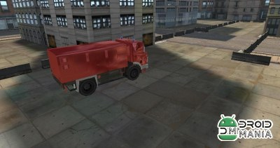 Скриншот Fire Rescue Parking 3D HD / Пожарная служба Парковка 3D HD №1