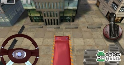 Скриншот Fire Rescue Parking 3D HD / Пожарная служба Парковка 3D HD №3