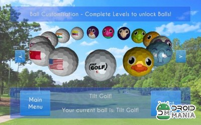 Скриншот Tilt Golf: Online Tournament №2