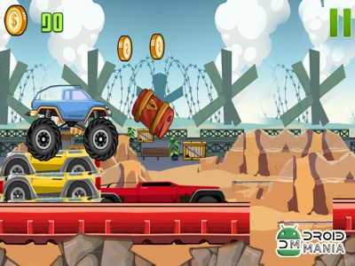 Скриншот Monster Truck Mayhem №2